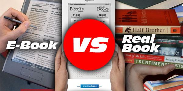 Buku Dijital (e-book) vs Buku Cetak