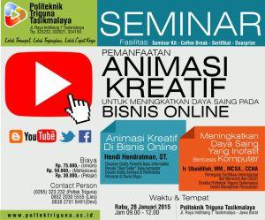 Iklan Koran Seminar Triguna.