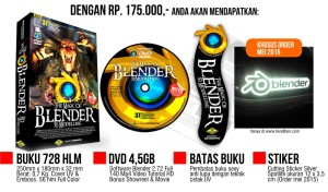 Buku tutorial blender 3d, download buku blender 3d, buku manual blender. Penerbit buku blender, jual buku blender 3d. Buku belajar blender 3d, tutorial blender bahasa indonesia, tutorial blender pemula