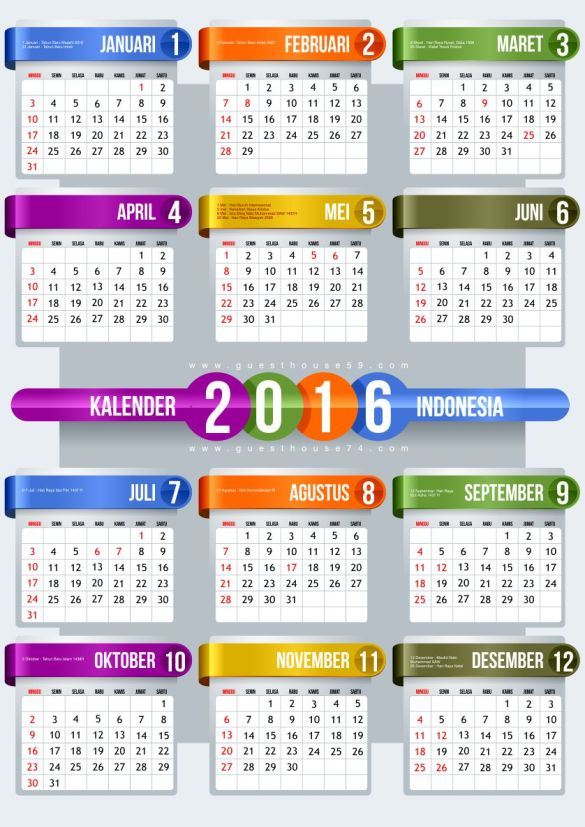 gratis kalender 2016 indonesia format vector pdf cdr tips trik windows internet desain. Black Bedroom Furniture Sets. Home Design Ideas